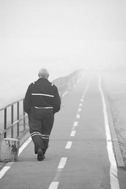 walk into mist
