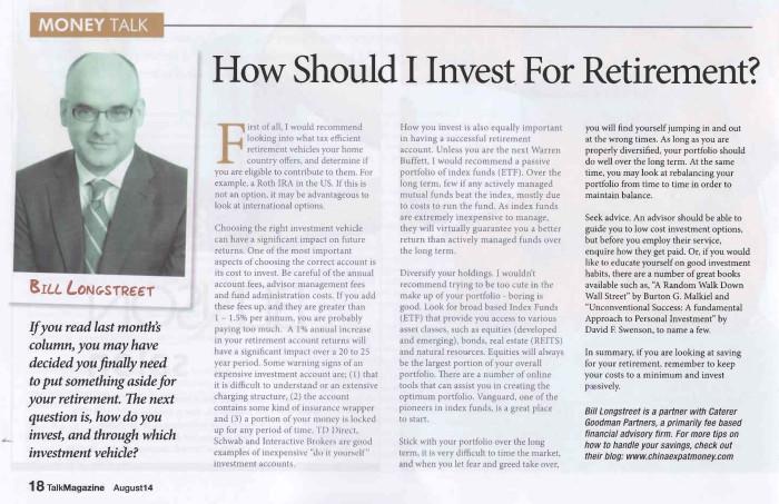 How should I invest for retirement