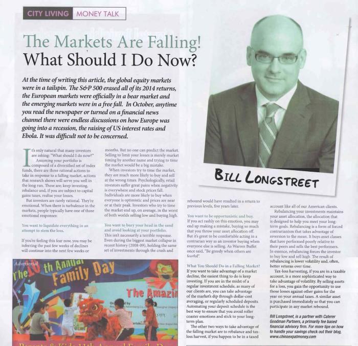market fell