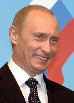 Vladimir Putin Smiling
